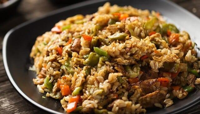Receita de arroz de forno com cupim