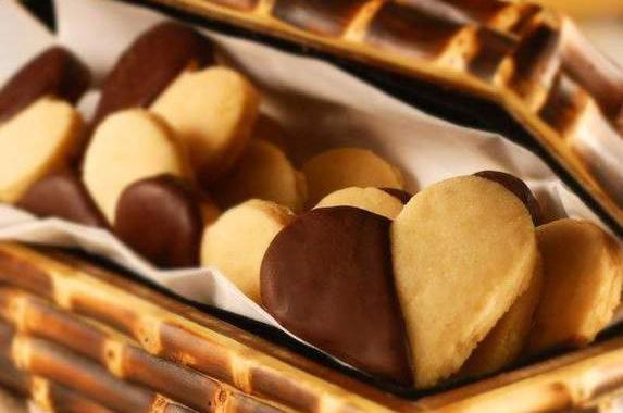Biscoitos de Chocolate com Avelã