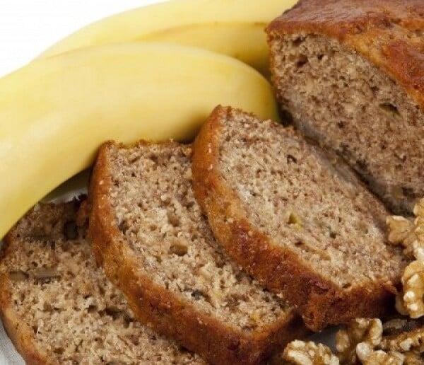 receita de bolo de banana integral