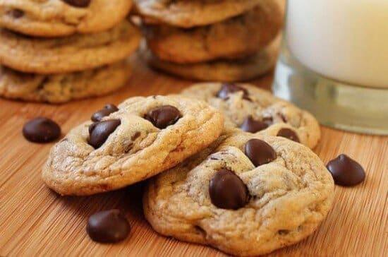 cookies de chocolate tradicional