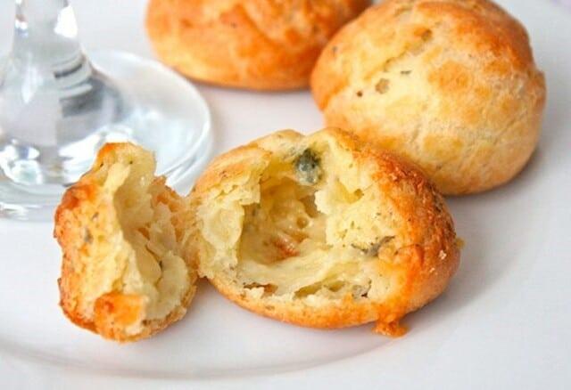 Receita de pão de queijo
