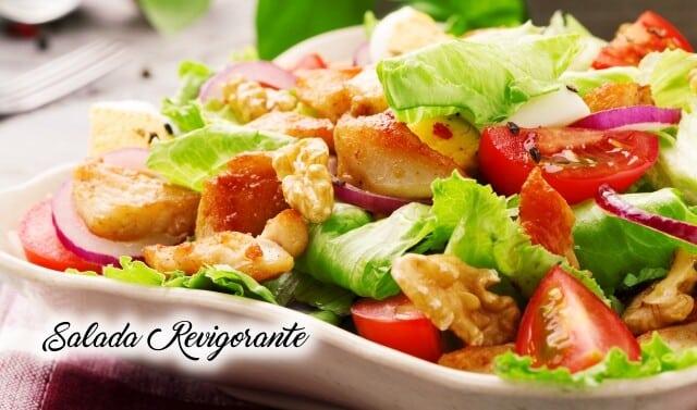 Receita de salada revigorante