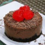 Torta de chocolate com menta: receita