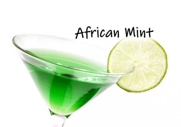 Receita de african mint