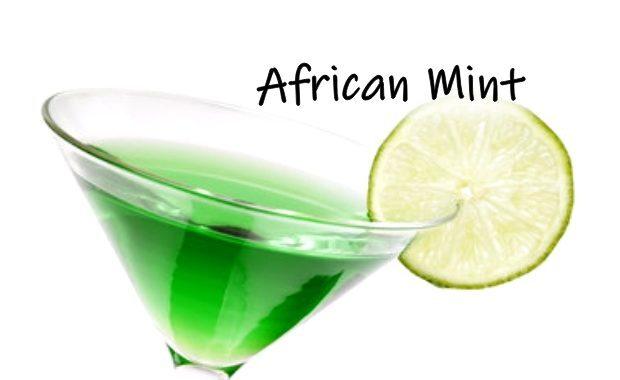 Menta com Amarula – Shot com Amarula (African Mint)