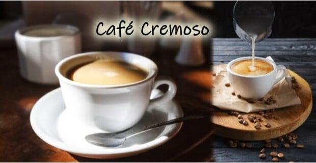 Café Cremoso e saboroso feito na batedeira para congelar