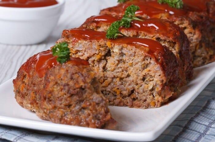 Receita de carne moída assada