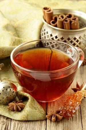 como fazer o chá de canela