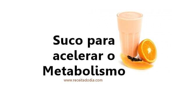 Suco para Acelerar o Metabolismo