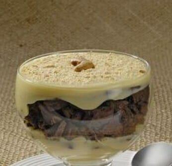 Taça Mousse Marmorizada: Sobremesa sofisticada e fácil de fazer!