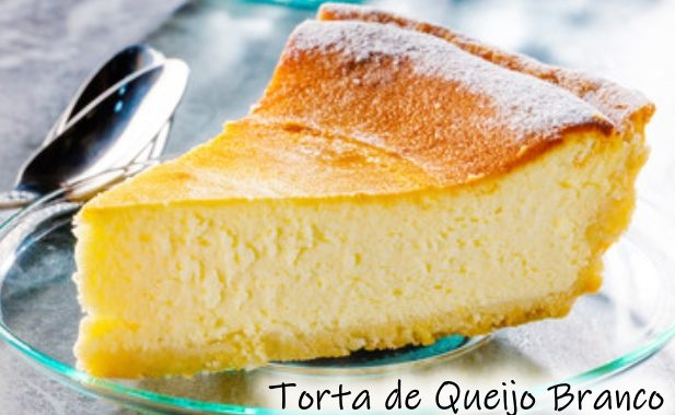 Torta de Queijo Branco deliciosa e muito saudável