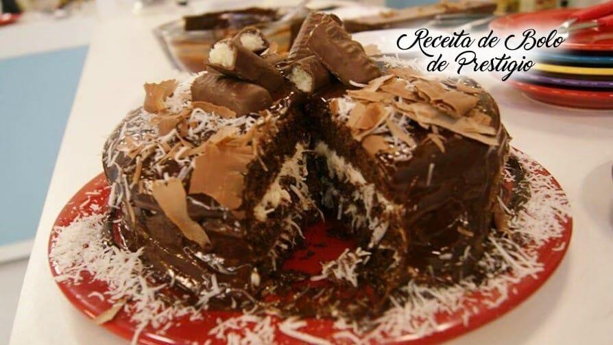 Receita de bolo de prestígio