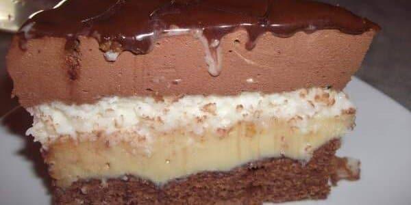 Bolo Tentação de Chocolate e Coco - saboreando um prestígio