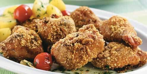 Receita de frango crocante