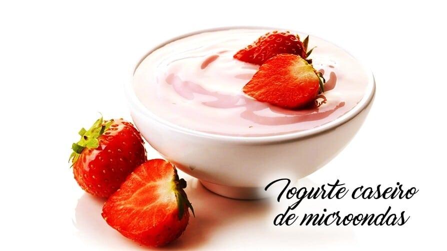 Iogurte caseiro de microondas