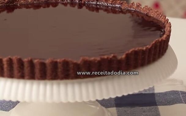 Torta de Chocolate Prática