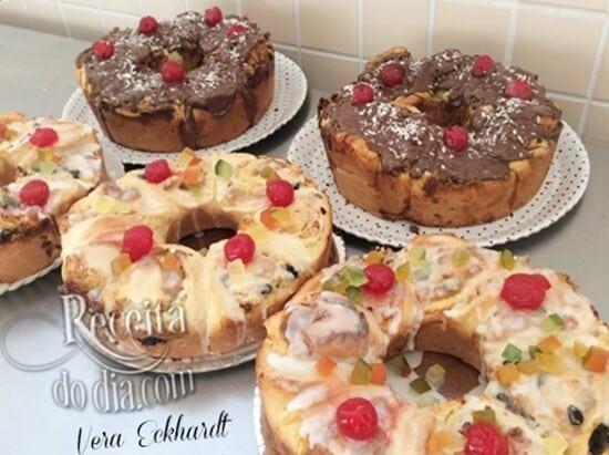 receita de bolo de natal