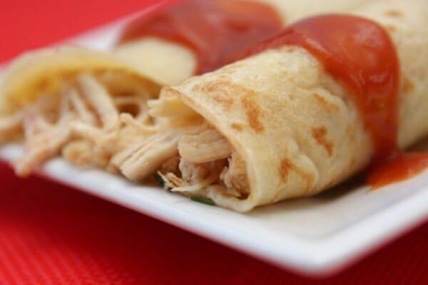 Panqueca de frango. (Foto: Divulgação)