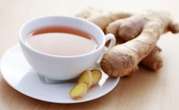 O chá de gengibre tem poderes afrodisíacos. (Foto: Divulgação)