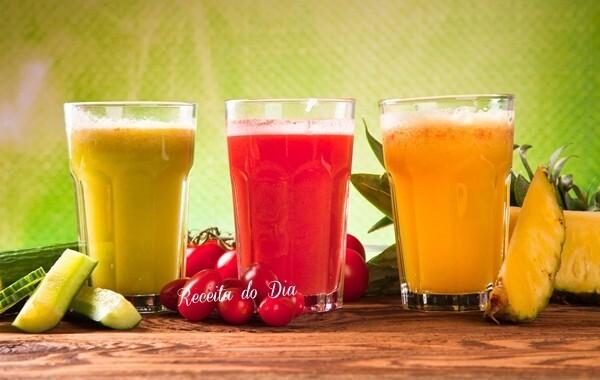 Sucos diuréticos para perder barriga