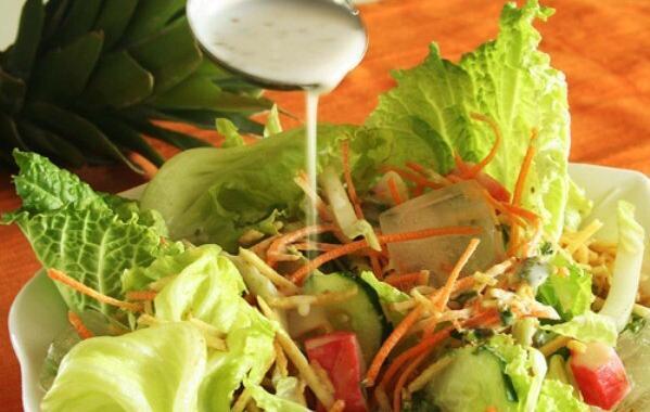 Receita de salada tropical: Passo a passo da salada prática e saborosa