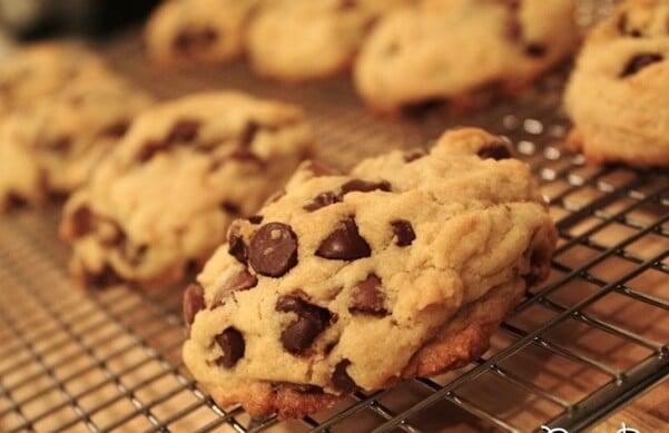 Depois de assados, os cookies ficam assim. (Foto: Divulgação)