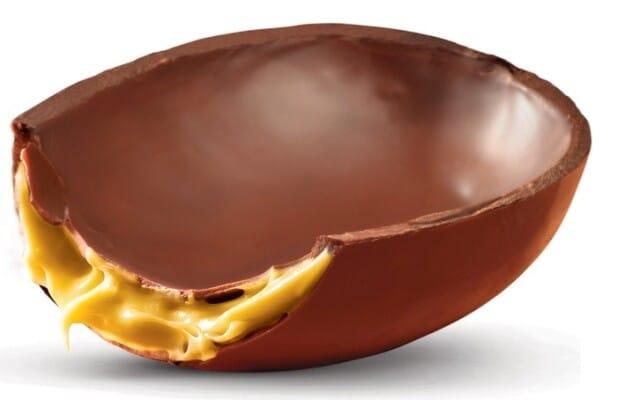 receita de ovo de páscoa trufado