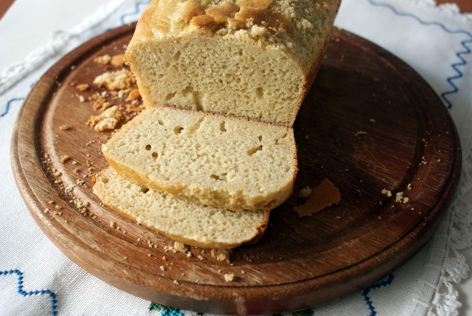 Esse pão não leva farinha de trigo, pois é um ingrediente com glúten. (Foto: Divulgação)