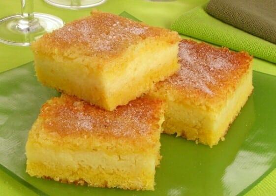 O bolo de milho é uma iguaria deliciosa. (Foto: Divulgação)