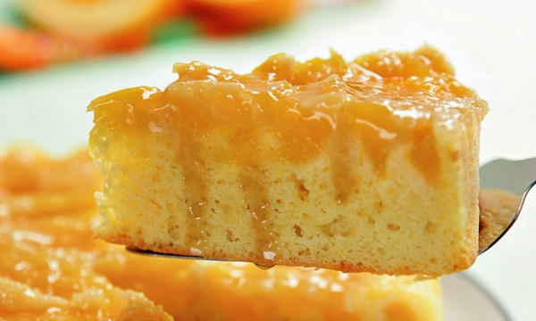 bolo gelado de laranja simples com recheio