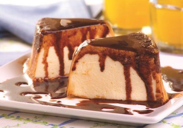 Aprenda a fazer um delicioso e geladinho pudim de sorvete. (Foto: Divulgação)