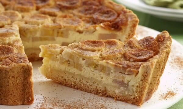 Aprenda a preparar uma deliciosa torta de banana. (Foto: Divulgação)