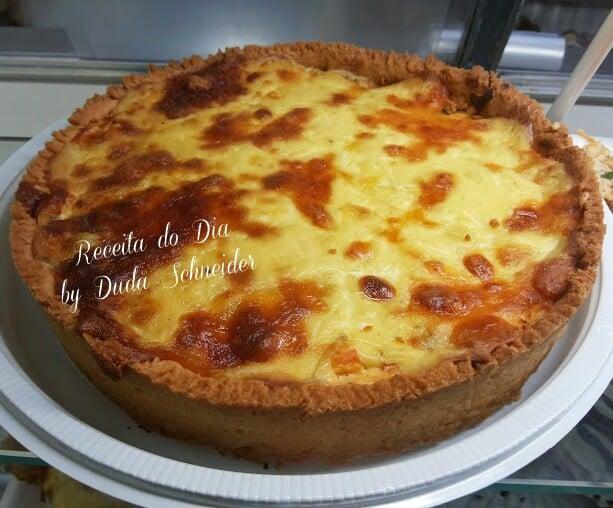 Receita de Torta de Frango com Requeijão