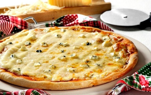 Massa de pizza caseira