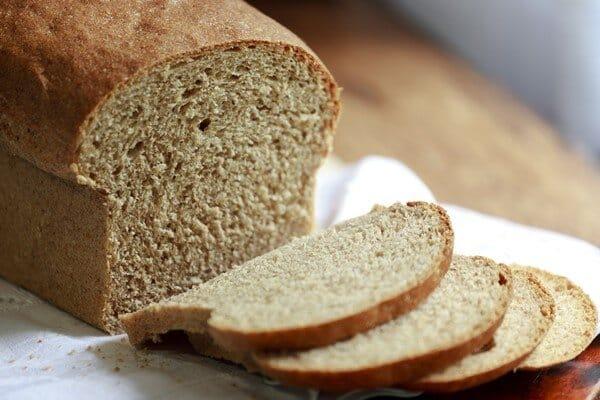 Pão caseiro integral. (Foto: Divulgação)
