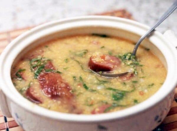 A canjiquinha é um prato da culinária mineira. (Foto: Divulgação)