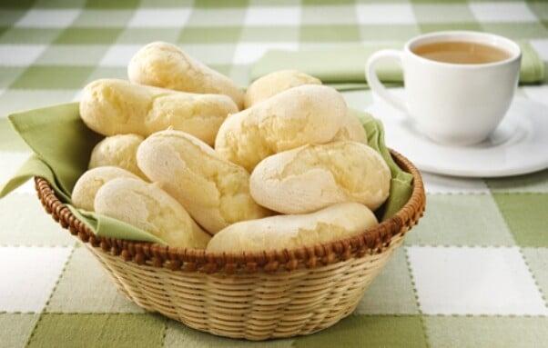 O biscoito de polvilho vai bem com café. (Foto: Divulgação)