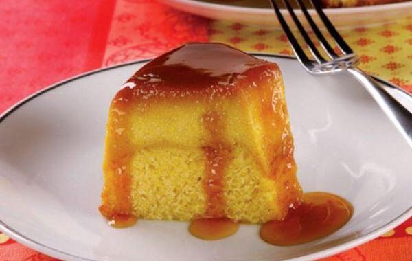 PUDIM DE MILHO – Delicioso doce a base de milho verde