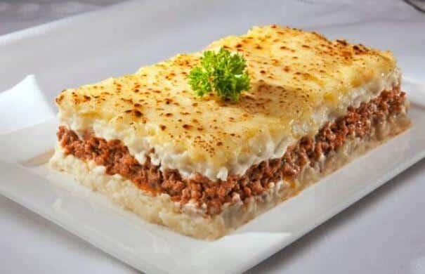 O escondidinho de carne moída é uma ótima pedida para o almoço. (Foto: Divulgação)
