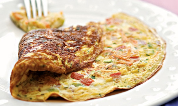 Aprenda a fazer uma deliciosa omelete rápida. (Foto Ilustrativa)