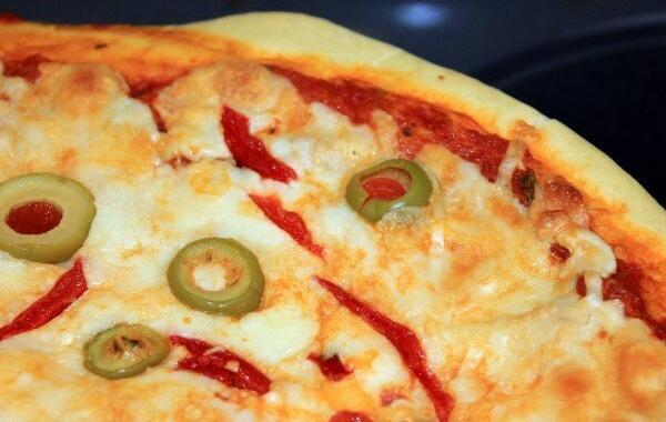 Receita de pizza feita no micro-ondas