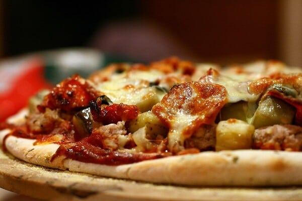 Prepare essa pizza em meia hora. (Foto: Divulgação)