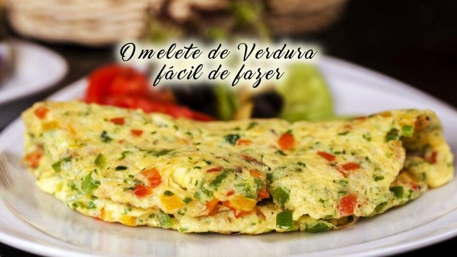 Omelete de verdura