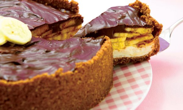 A combinação de banana, chocolate e cream cheese é perfeita.