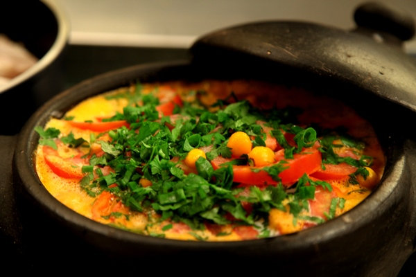 A moqueca baiana é um prato típico da culinária brasileira. (Foto: Divulgação)