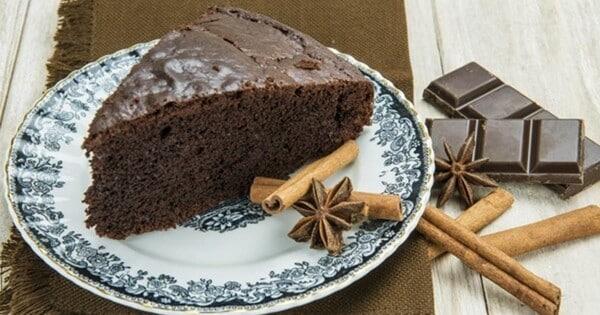 Bolo de chocolate com canela 3