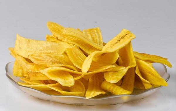 Chips de Banana: doce e salgado