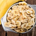 Chips de banana: receita