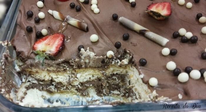 Pavê de chocolate – sobremesa fácil