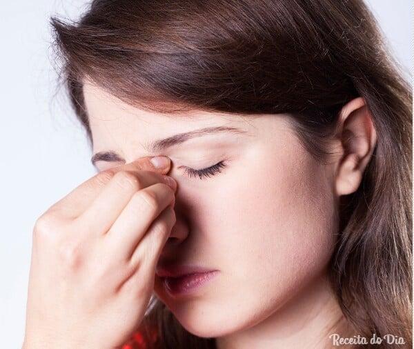 Remédios caseiros para aliviar a sinusite